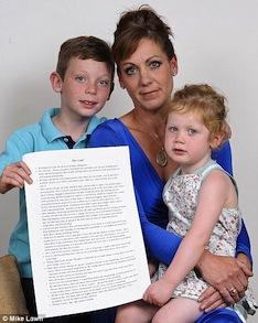 Thomas, Mandy e Lucy - A família de Paul Flanagan